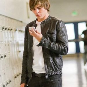 17 Again Mike Zac Efron Leather Jacket 5