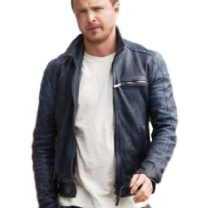 Aaron Paul Need For Speed Black Jacket 4