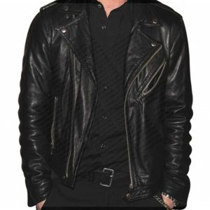 Adam Levine Biker Leather Jacket 11
