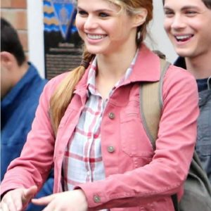 Percy Sea of Monsters Alexandra Daddario Jacket 19
