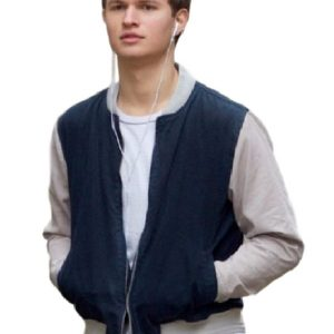 Ansel Elgort Baby Driver Jacket 7