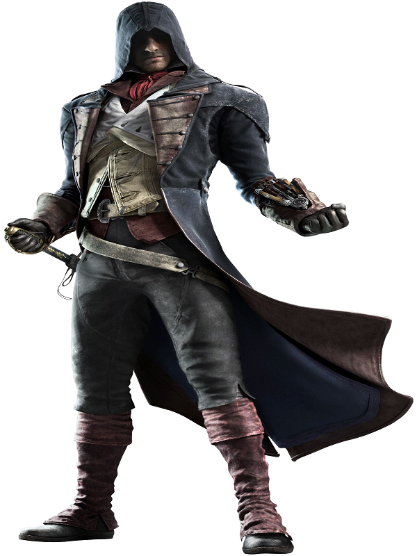Video Game Assassins Creed Arno Dorian Costume Coat