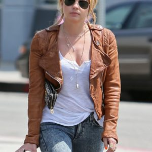 Ashley Benson Elegant Design Jacket 7