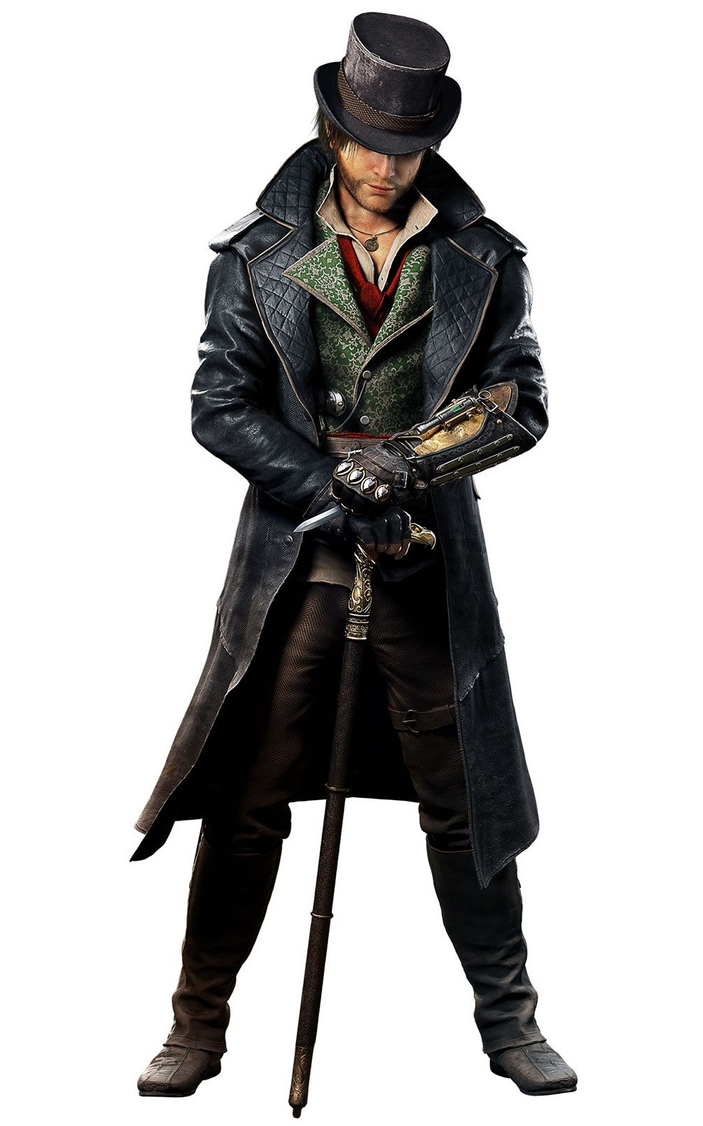 Video Game Assassin S Creed Jacob Frye Costume Coat