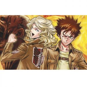 Manga Series Attack On Titan Unesex Jacket 33