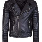 Brando Stylish Black leather Jacket