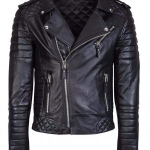 Brando Stylish Black leather Jacket 30