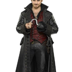 Once Upon a Time Captain Killian Hook Coat 14