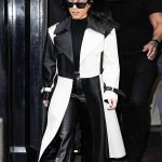 Kourtney Kardashian Designer Coat