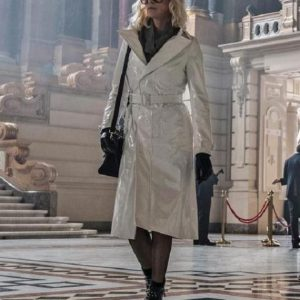 Atomic Blonde Charlize Theron Coat 9