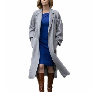 Charlotte Field Long Shot Charlize Theron Coat 2