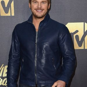 Chris Pratt Varvatos Leather Jacket 9