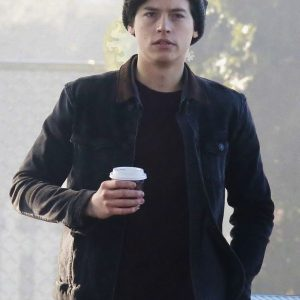 Cole Sprouse Riverdale Black Jacket 14