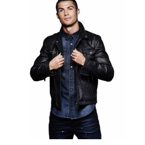 Cristiano Ronaldo Leather Jacket 16