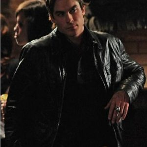 Ian Somerhalder The Vampire Diaries Damon Salvatore Jacket 44