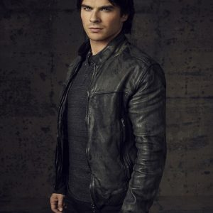 The Vampire Diaries Damon Salvatore Jacket 7