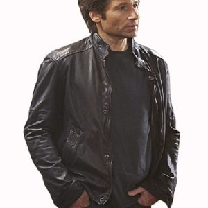 David Duchovny Californication Leather Jacket   29