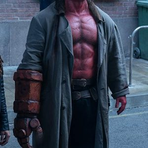 David Harbour Hellboy Coat 30