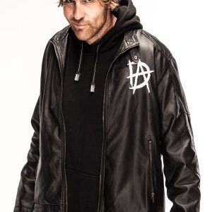 Dean Ambrose Leather Jacket 15