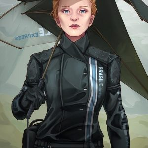 Death Stranding Express Women Jacket 31
