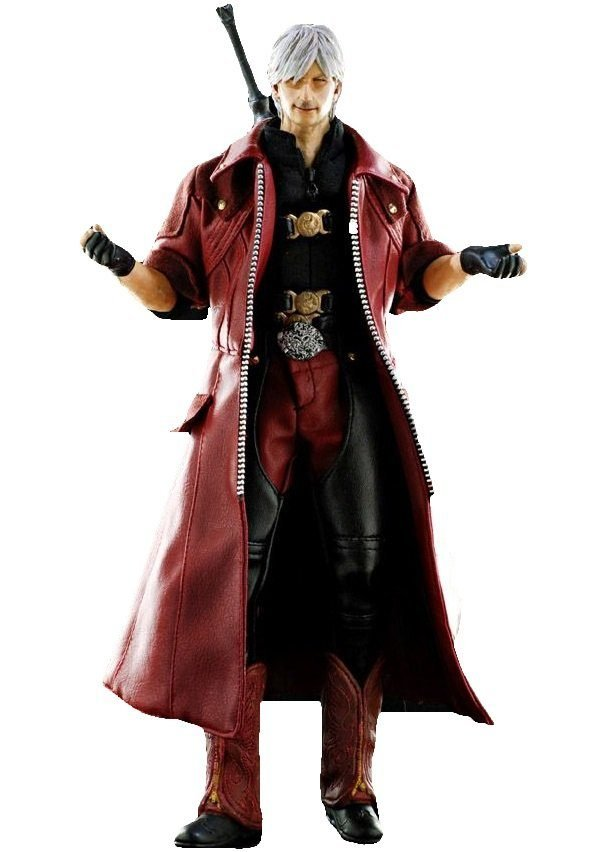 Devil May Cry 4 Dante Leather Coat 1