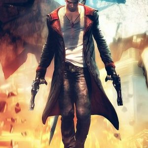 Devil May Cry 5 Dante Cosplay Coat 40