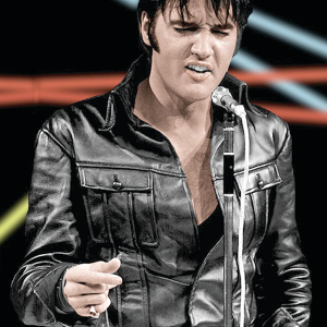 Elvis Presley The King Of Rock Jacket 6