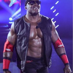 Wrestler Bobby Lashley Leather Vest 37