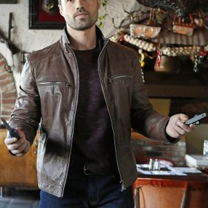 Brett Dalton Agents of Shield Grant Ward Jacket 31