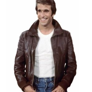 Happy Days Fonzie Leather Jacket 42