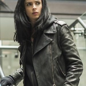 Jessica Jones The Defenders Biker Jacket 16