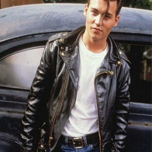 Johnny Depp Cry Baby Leather Jacket 6