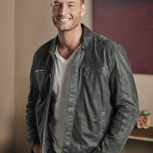 Justin Hartley This Is Us Kevin Pearson Leather Jacket 12