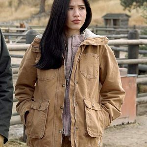 Kelsey Asbille Yellowstone Monica Dutton Jacket 22