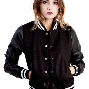 Ladies Classic Varsity Jacket 10