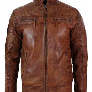 Café Racer Coats & Jackets for Men for sale Leather Jacket 37