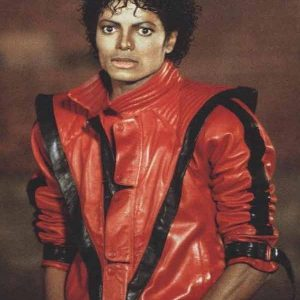 Michael Jackson Thriller Red Jacket 18
