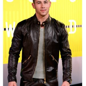 Nick Jonas MTV Awards Arrivals Jacket 22