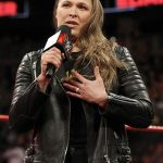 Wrestler Ronda Jean Rousey Stylish Quilted Jacket 2