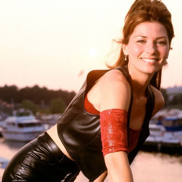 Singer Shania Twain Leather Vest 2