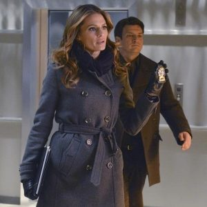 Castle Kate Beckett Stana Katic Coat 23