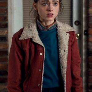 This Natalia Dyer Stranger Things Nancy Wheeler Jacket 11