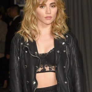Suki Waterhouse Motorbiker Jacket 5