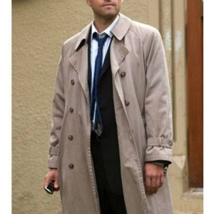 Castiel Supernatural Misha Collins Coat 1
