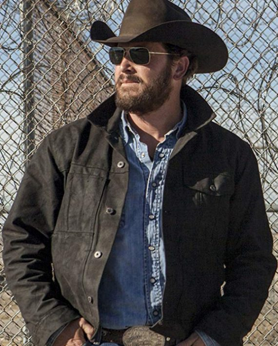 Cole Hauser Yellowstone  Wheeler Rip Jacket 1