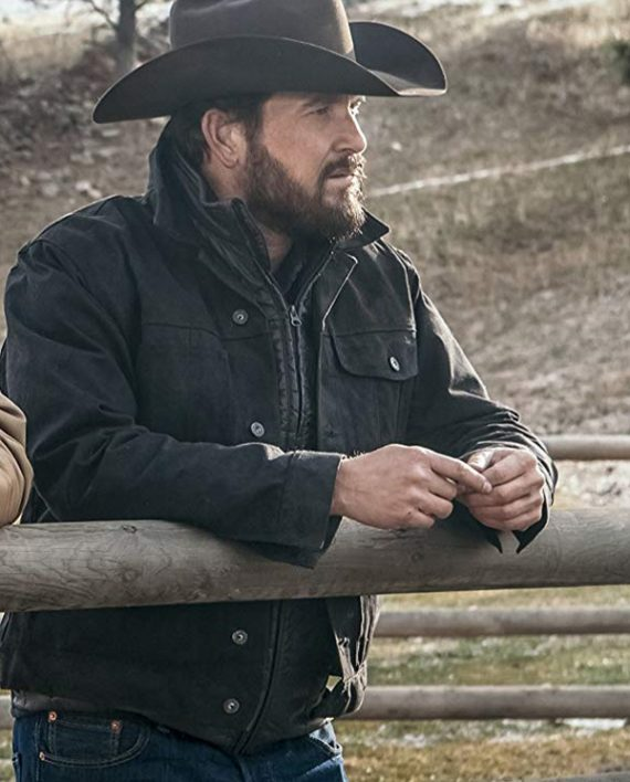 Cole Hauser Yellowstone  Wheeler Rip Jacket 4