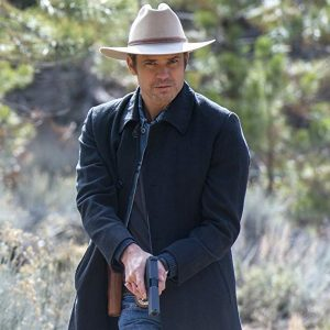 Timothy Olyphant Justified Trench Coat 12
