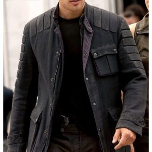 Theo James The Divergent Insurgent Jacket 10