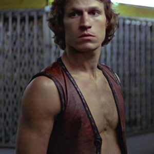 Michael Beck Swan Warriors Leather Vest 30