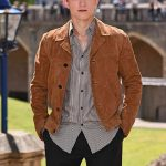 Tom Holland Brown Suede Leather Jacket